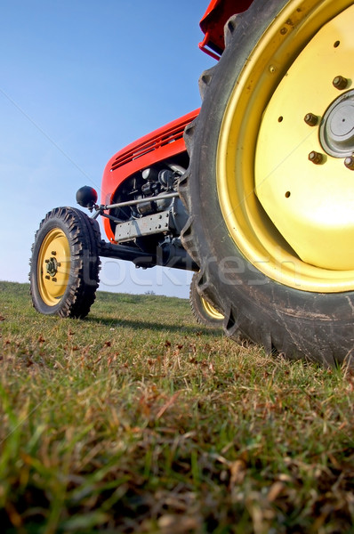 Colourful Tractor Stock photo © tepic