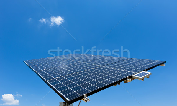 Solar Panel with blue Sky Stock photo © tepic