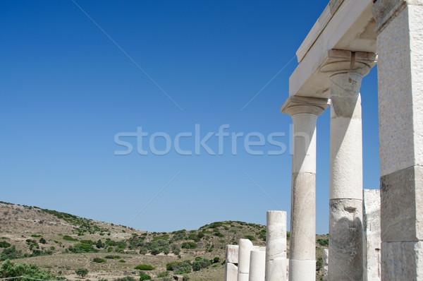 Columns in Delos Stock photo © tepic