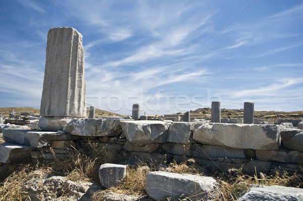 列 建設 海 石 寺 構造 ストックフォト © tepic