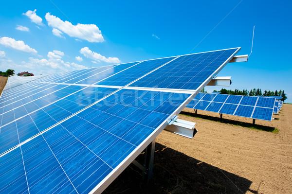 Solar Energy Field Stock photo © tepic