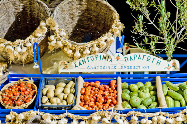 Mediterranean Fruits and Vegetables Stock photo © tepic