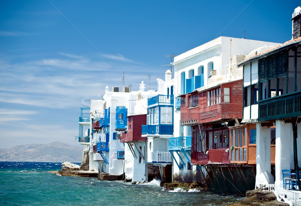 Little Italy in Mykonos Stock photo © tepic