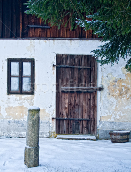 Rural Entry Stock photo © tepic