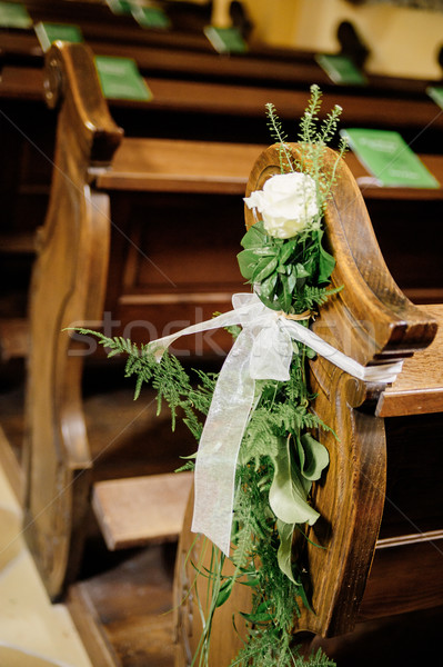 Flower wedding decoration Stock photo © tepic