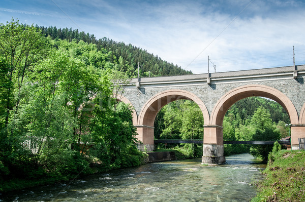 Viaduct in Lower Austria Stock photo © tepic