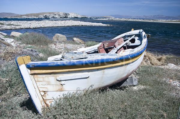Vecchio Grecia spiaggia natura mare Foto d'archivio © tepic