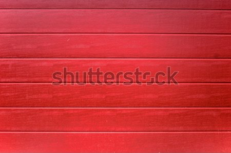 赤 描いた 木の質感 縞模様の 木材 家 ストックフォト © tepic