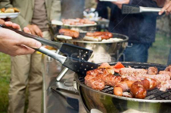 Big Barbeque Stock photo © tepic