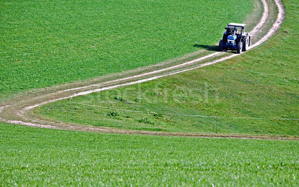 Tractor on a Crooked Road Stock photo © tepic