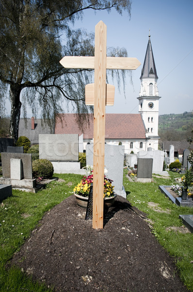 Fresh Grave Stock photo © tepic