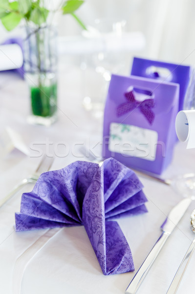 Celebration Table Setting Stock photo © tepic