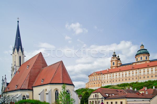Abbey and Church of Melk Stock photo © tepic