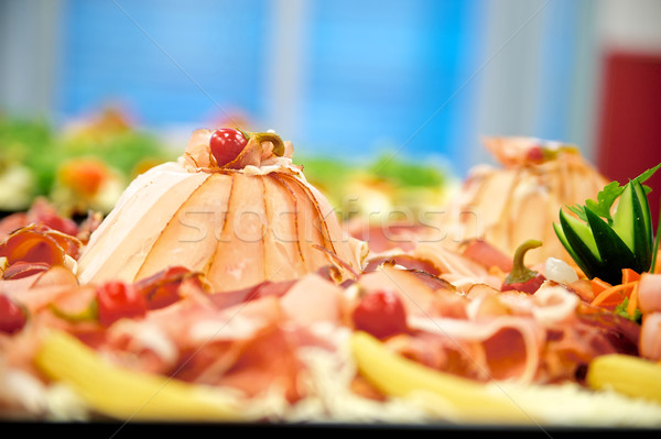 Cold Cuts with Ham Stock photo © tepic