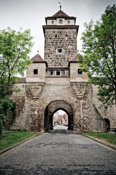 Tower of Rothenburg Stock photo © tepic