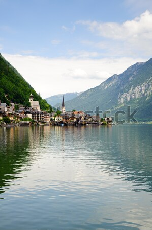 View on Hallstatt Stock photo © tepic