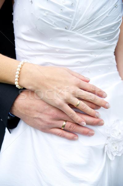 花嫁 新郎 結婚指輪 結婚式 男 ストックフォト © tepic