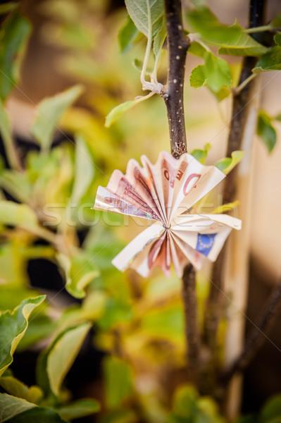ツリー お金 緑 銀行 工場 ストックフォト © tepic
