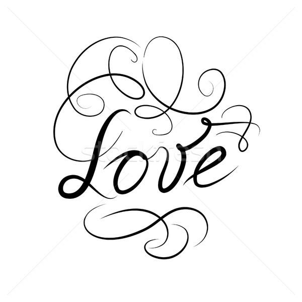 kalligrafikus 183 firka 183 szeretet 183 felirat 183 k233zzel