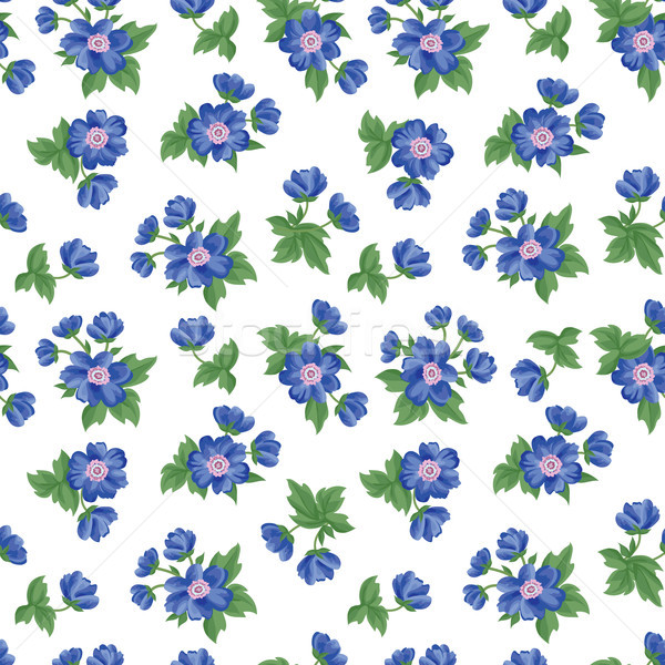 Floral seamless pattern. Flower background. Texture with flowers Stock photo © Terriana