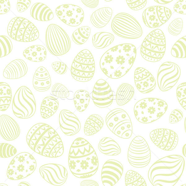Easter egg seamless pattern. Holiday background Stock photo © Terriana