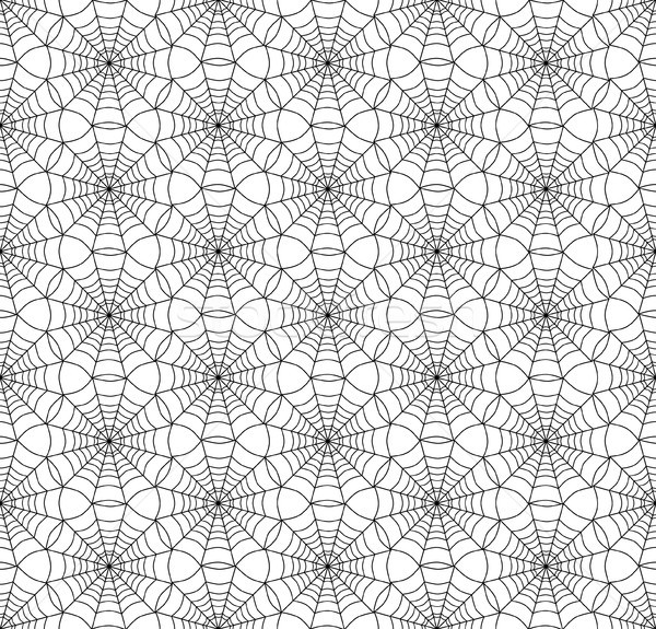 Geometrik biçim hat web model Stok fotoğraf © Terriana