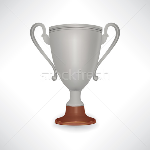 Winner cup. Trophy sign isolated Stock photo © Terriana