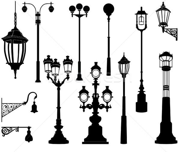 Street lamp Stock photo © Terriana