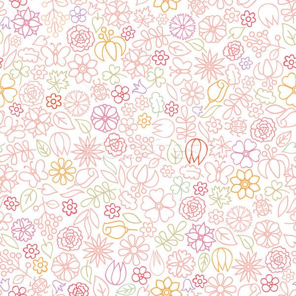 цветочный цветок икона нежный весны Сток-фото © Terriana