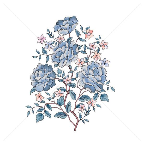 Floral background. Flower bouquet. Flourish spring floral greeti Stock photo © Terriana