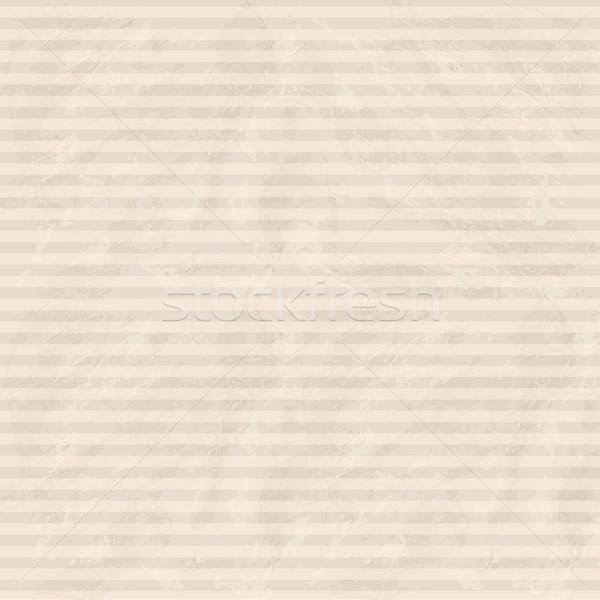Resumen línea patrón vintage a rayas textura del papel Foto stock © Terriana