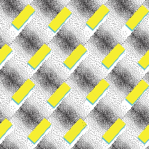 Soyut geometrik form model noktalı süs Stok fotoğraf © Terriana
