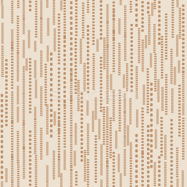 Abstract dotted line seamless white pattern. Stripped texture Stock photo © Terriana