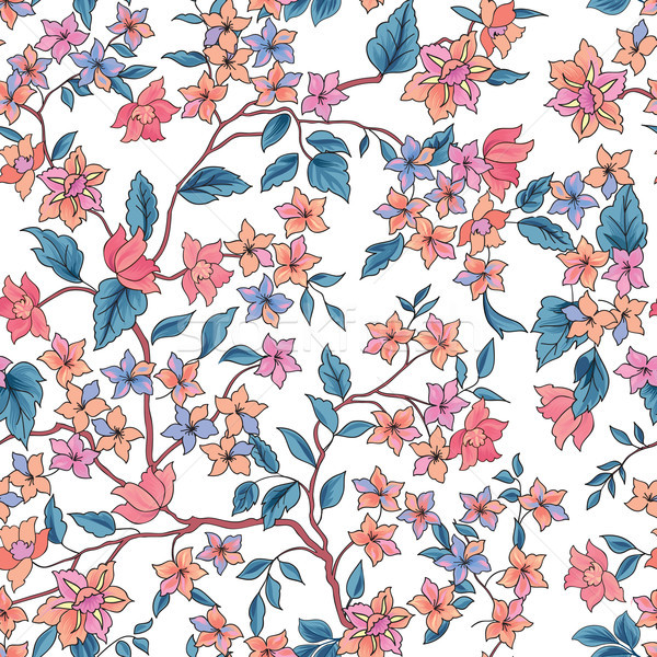 Bloem bloeien tuin behang Stockfoto © Terriana