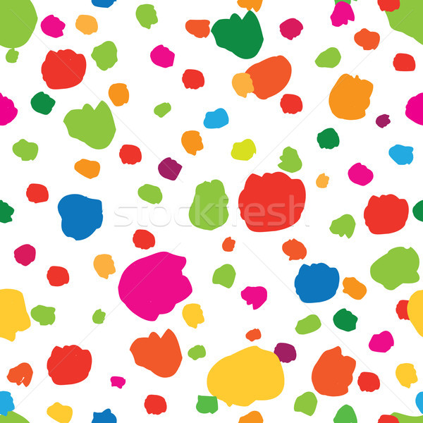 Abstract seamless pattern with dot. Blot holiday party texture Stock photo © Terriana