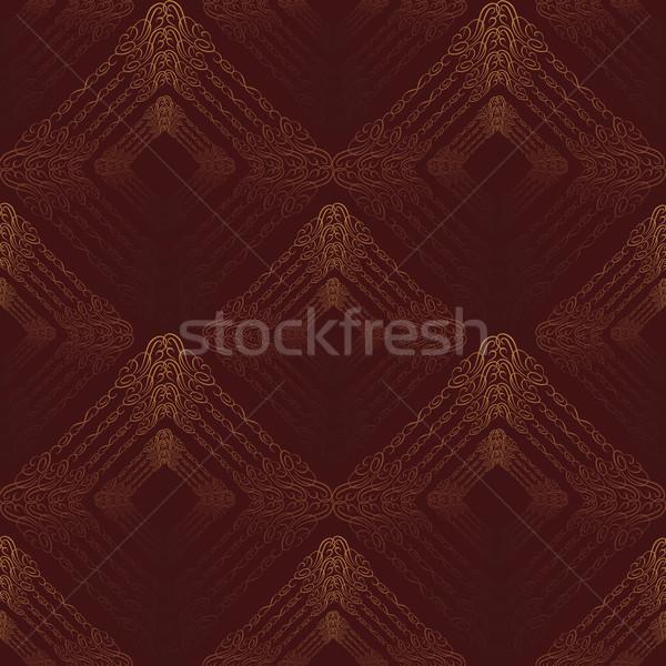 аннотация квадратный орнамент арабский геометрический Сток-фото © Terriana