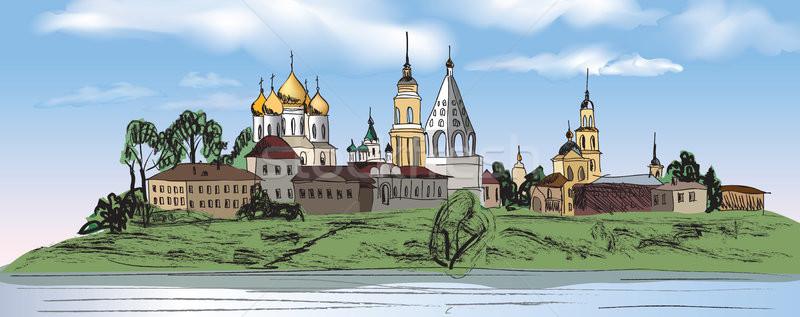 Russo cidade Kremlin paisagem viajar Rússia Foto stock © Terriana
