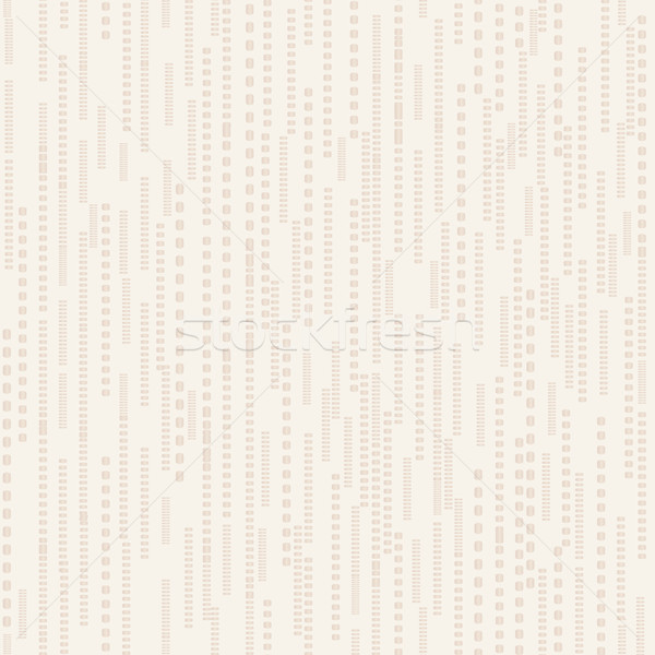 Abstract line dot seamless beige pattern. Stripped tile texture Stock photo © Terriana
