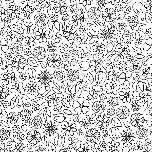 цветочный болван цветок икона нежный Сток-фото © Terriana