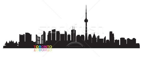 Canadá Toronto viaje paisaje urbano vista Foto stock © Terriana