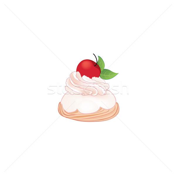 Cake isolated. Sweet Brownies Stock photo © Terriana