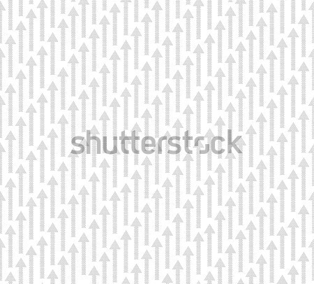 Arrow Up seamless pattern background. Success texture Stock photo © Terriana