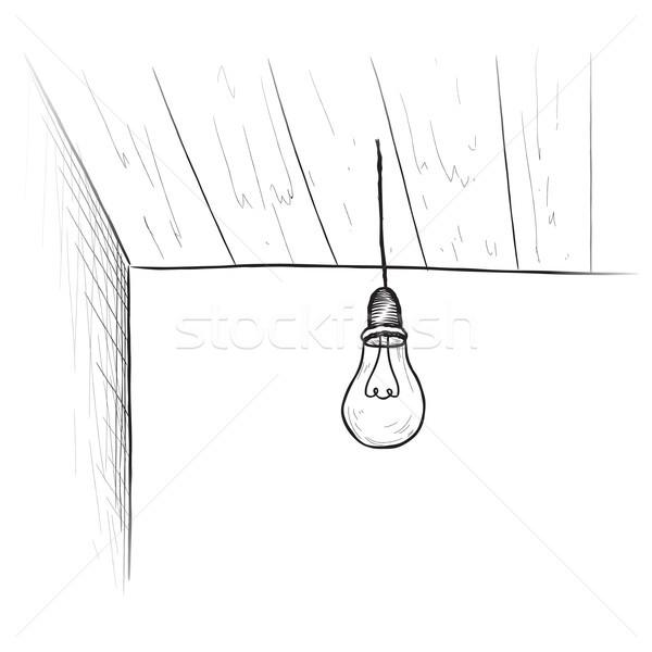 Lamp kamer interieur plafond lamp Stockfoto © Terriana