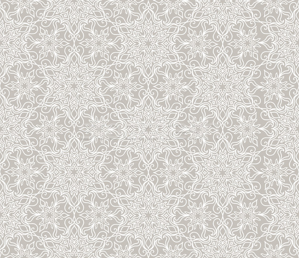 Flourish mosaic tiled pattern. Floral oriental ethnic background Stock photo © Terriana