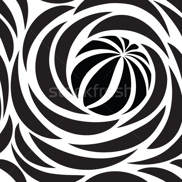 Abstract seamless pattern with circles. Circular line wallpaper Stock photo © Terriana