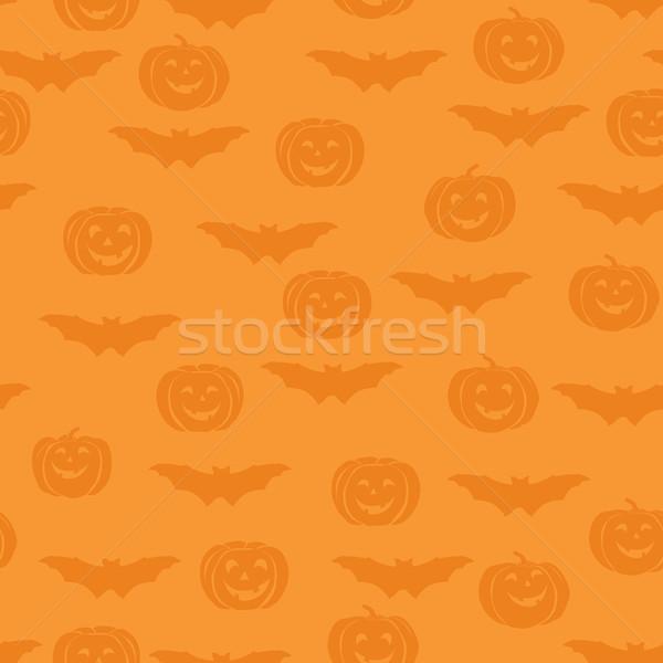 Halloween férias feliz bat Foto stock © Terriana