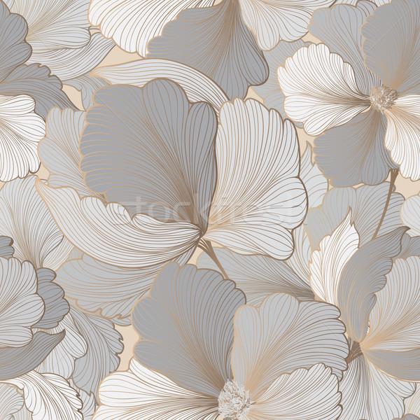 Floreale fiore fiorire giardino testo Foto d'archivio © Terriana