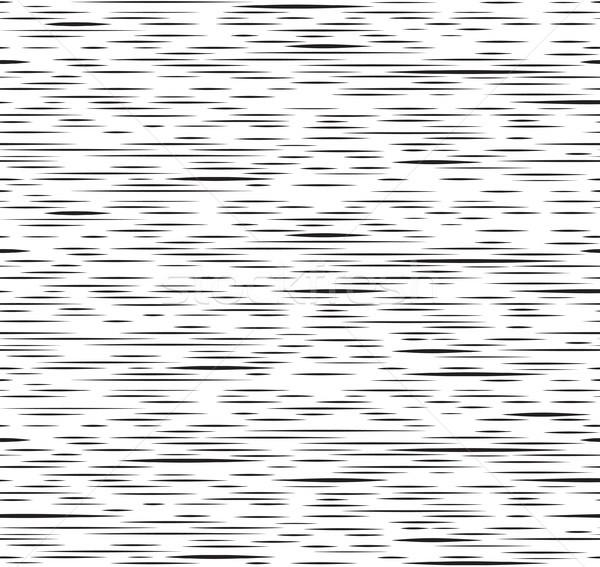 抽象的な ストライプ 行 黒白 テクスチャ ストックフォト © Terriana