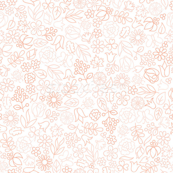 Floral seamless pattern.  Flower icon gentle background. Nature  Stock photo © Terriana