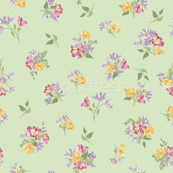 Floral blanche jardin de fleurs Photo stock © Terriana